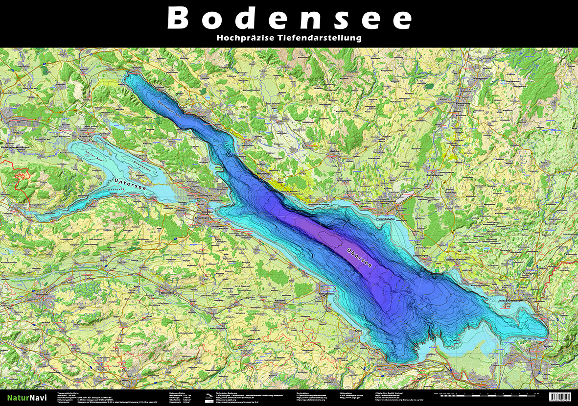 Tiefe Bodensee
